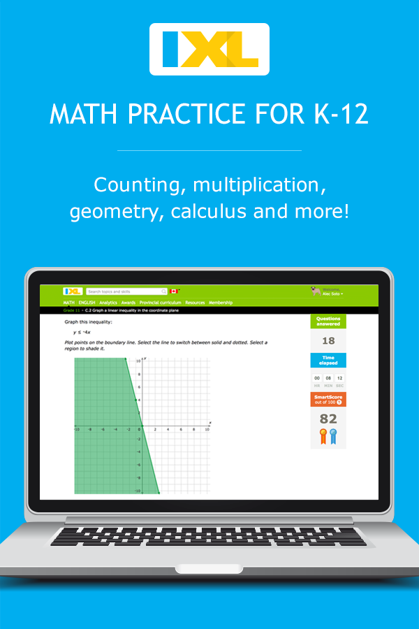 IXL | Math and English Language Arts Practice
