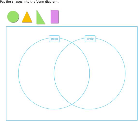 Ixl sort shapes into a venn diagram grade 2 math ccuart Image collections
