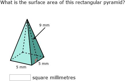 Surface Area Of A Triangle Pyramid - slide share